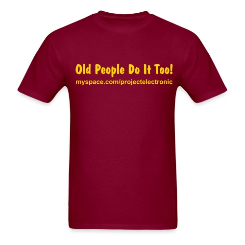 Guys Old People - Men's T-Shirt