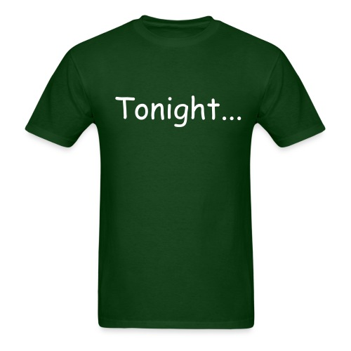 tonight... guitarist mens tee - Men's T-Shirt
