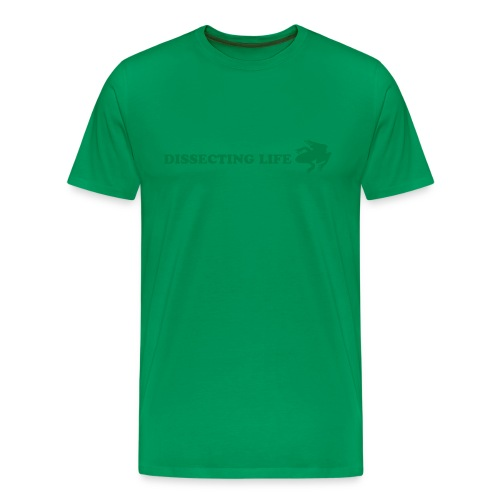 Dissecting Life Green - Men's Premium T-Shirt