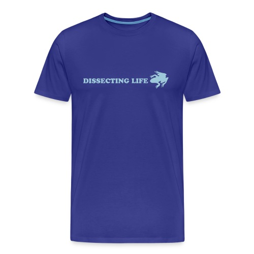 Dissecting Life Blue - Men's Premium T-Shirt