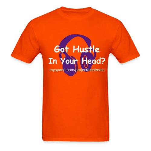 Guys Hustle In Your Head - Men's T-Shirt