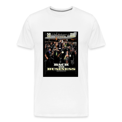 G-UNIT-WHITE-S-XXL - Men's Premium T-Shirt
