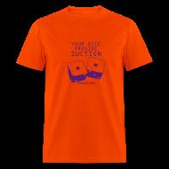 T-Shirts ~ Men's T-Shirt ~ Suction Orange