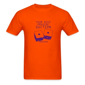 Suction Orange - Men's T-Shirt