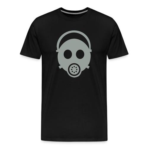gas mask - Men's Premium T-Shirt