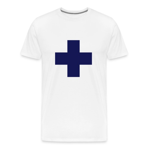JPL cross - Men's Premium T-Shirt