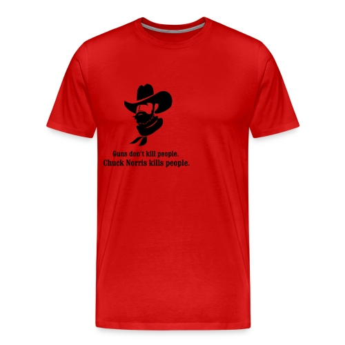 chuck kills peolpe - Men's Premium T-Shirt