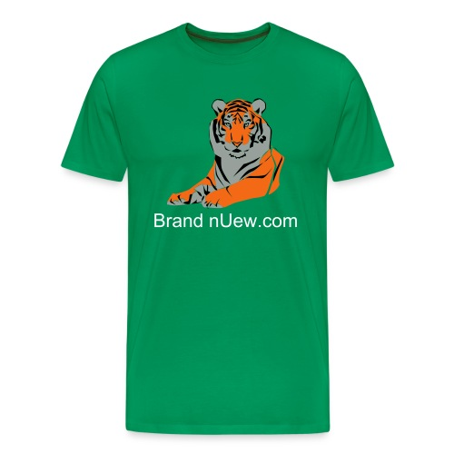 Mens: Brand nUew Tiger - Men's Premium T-Shirt
