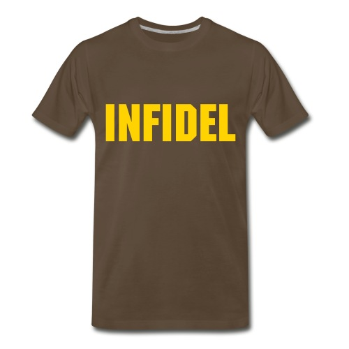 Infidel (Chocolate) - Men's Premium T-Shirt