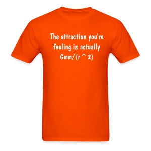 Physics Attraction - Men's T-Shirt