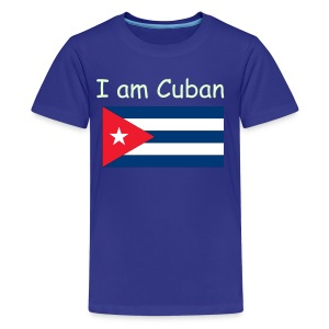 I AM CUBAN - Kids' Premium T-Shirt