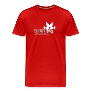 Whistler Kicks Ass 1 - Men's Premium T-Shirt