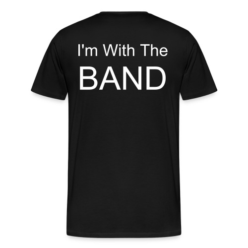 LTT I'm With The Band - Men's Premium T-Shirt