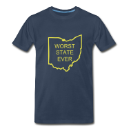 T-Shirts ~ Men's Premium T-Shirt ~ Worst State Ever