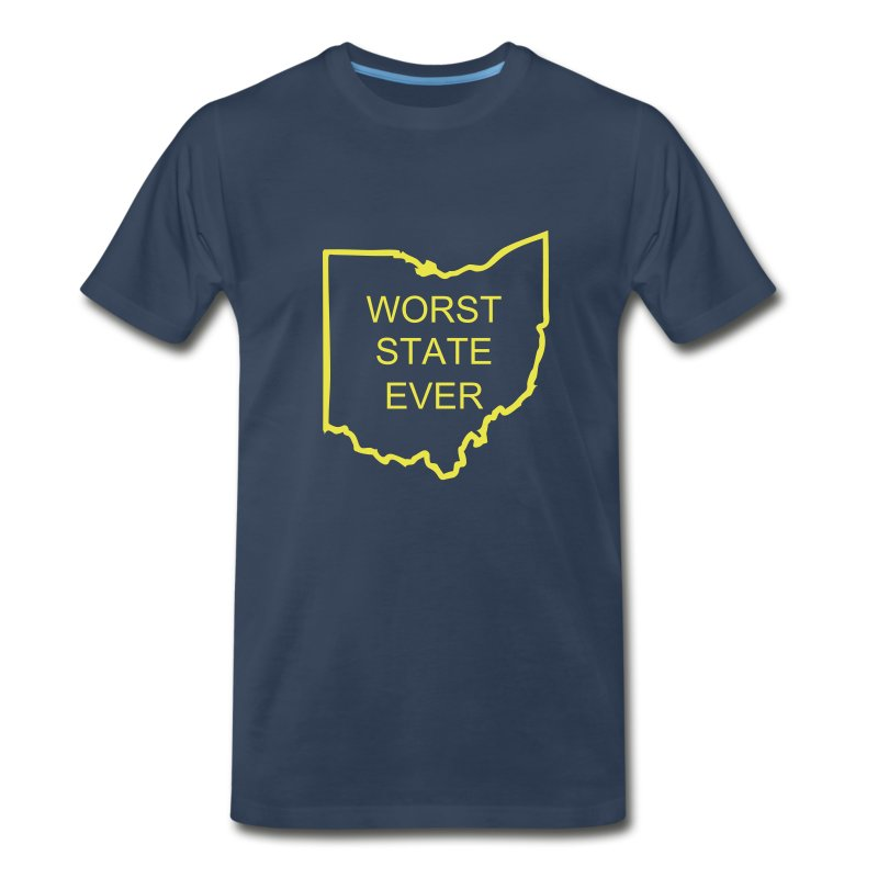 Worst State Ever - Men's Premium T-Shirt
