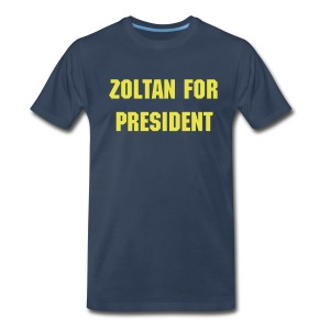 Zoltan - President Blue - Men's Premium T-Shirt