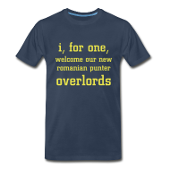 T-Shirts ~ Men's Premium T-Shirt ~ Overlords - Blue