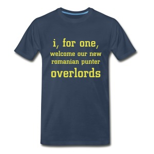 Overlords - Blue - Men's Premium T-Shirt