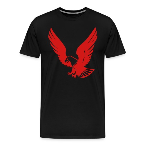Eagle Blck Shirt - Men's Premium T-Shirt