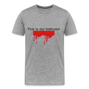 This IS my costume! Heavyweight Cotton T-shirt in Ash - Men's Premium T-Shirt
