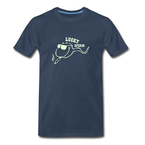 Happy Sperm - Men's Premium T-Shirt