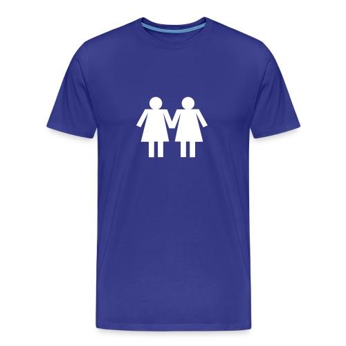 Girl on Girl - Men's Premium T-Shirt