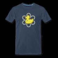 T-Shirts ~ Men's Premium T-Shirt ~ atomic duckie - navy