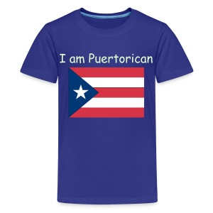I AM PUERTORICAN - Kids' Premium T-Shirt
