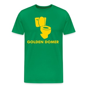 Golden Domer - Men's Premium T-Shirt