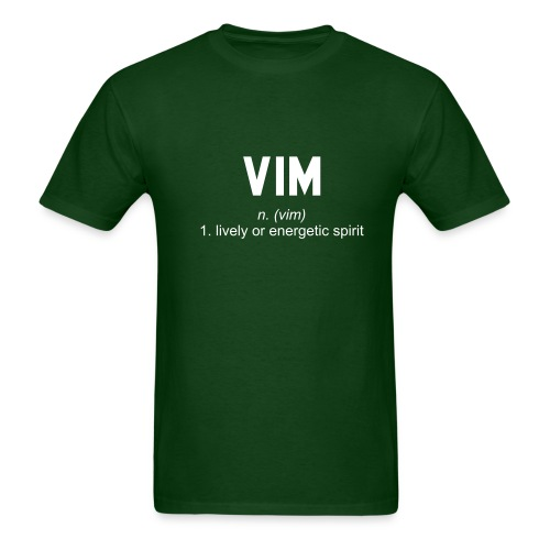 Vim - Men's T-Shirt