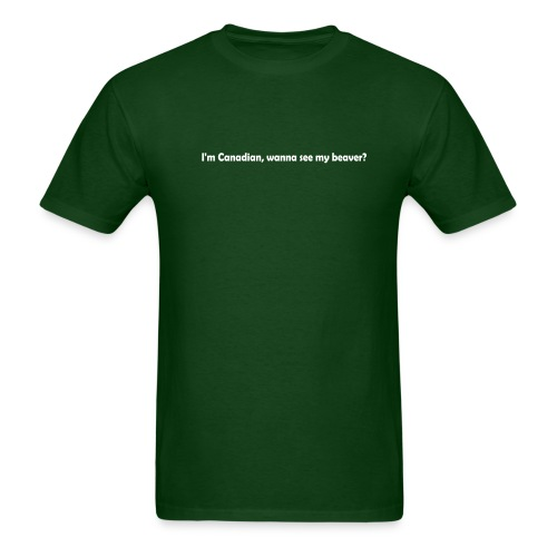 Wanna See My Beaver? - Men's T-Shirt