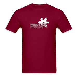 Whistler Kicks Ass 1 - Men's T-Shirt