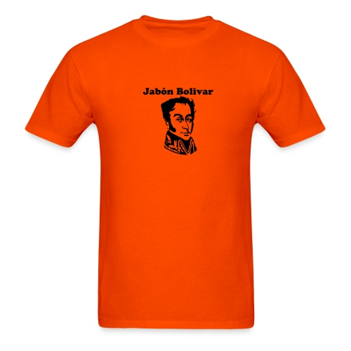 Jabón Bolivar - Men's T-Shirt