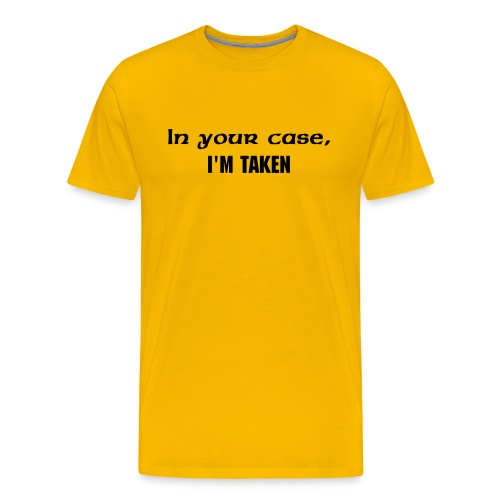 BlueTAG-I'm taken - Men's Premium T-Shirt