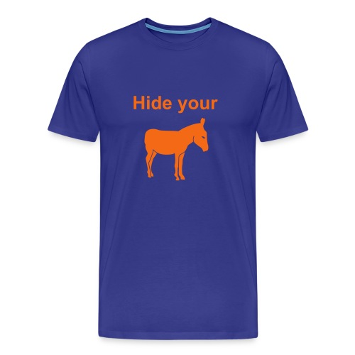 Florida Hide Your Ass Anti-UT T-shirt - Men's Premium T-Shirt