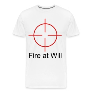 Fire At Will - Men's Premium T-Shirt