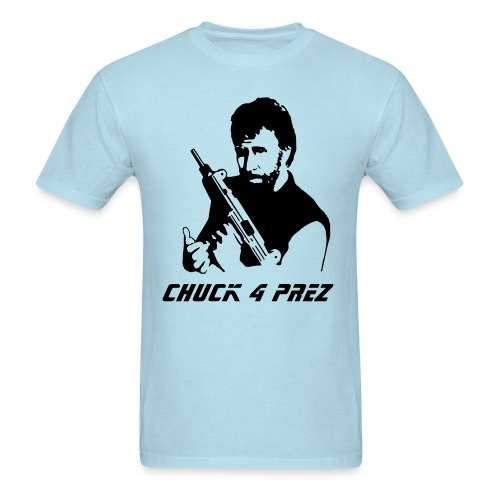 chuck 4 prez - Men's T-Shirt