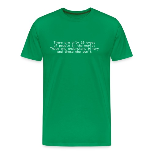 There are only 10... - Men's Premium T-Shirt