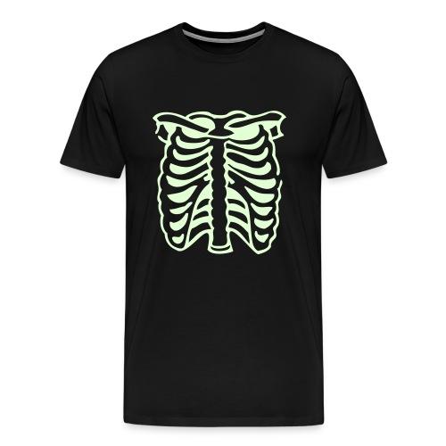 Skeleton - Glow in the Dark T-Shirt - Men's Premium T-Shirt