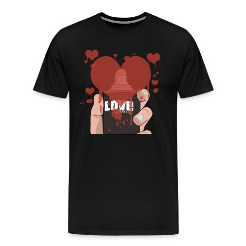 Love Spray T-shirt - Men's Premium T-Shirt