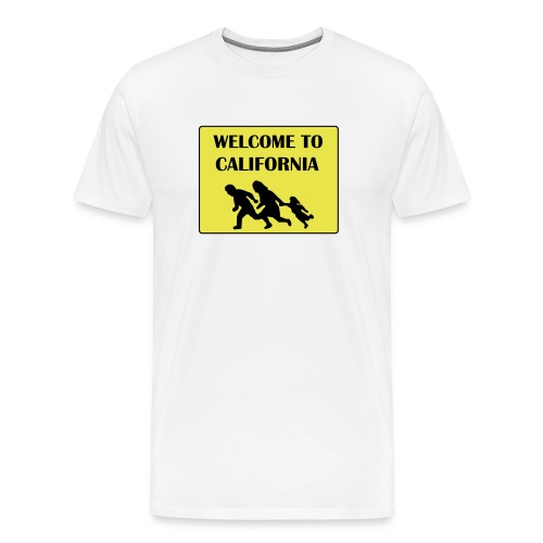 Welcome to California - Men's Premium T-Shirt