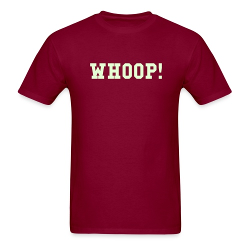 Glow-in-the-Dark Whoop! T-Shirt - Men's T-Shirt