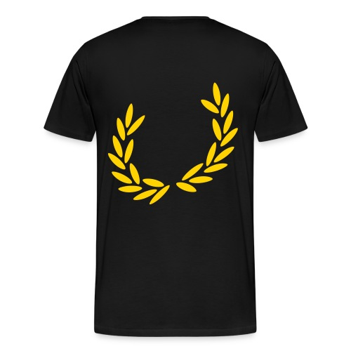 black wwa t-shirt - Men's Premium T-Shirt