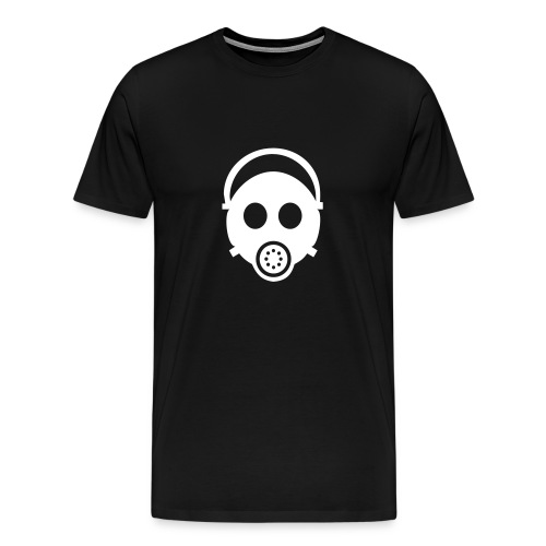 Gas Mask W/B T - Men's Premium T-Shirt