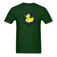 T-Shirts ~ Men's T-Shirt ~ atomic duckie - green