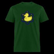 T-Shirts ~ Men's T-Shirt ~ atomic duckie - green