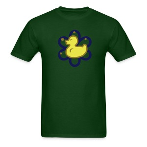 atomic duckie - green - Men's T-Shirt