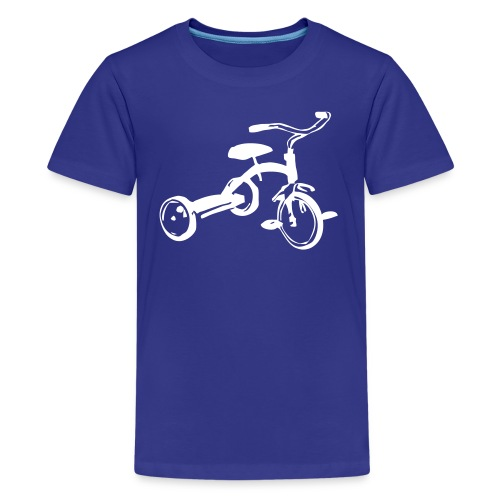 Tre hjul - Kids' Premium T-Shirt