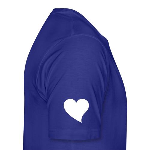 Wingman at heart Blue - Men's Premium T-Shirt