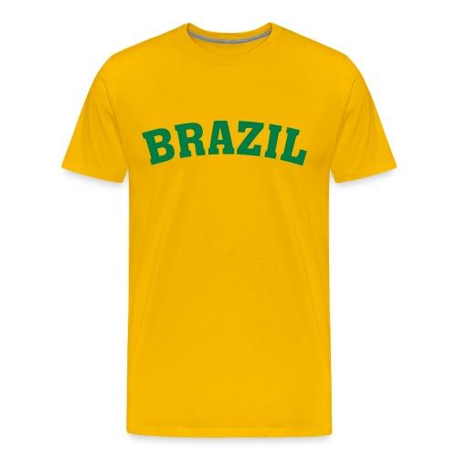 Ronaldinho trøje - Men's Premium T-Shirt